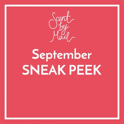 Scent by Mail September Box Sneak Peek! SPOILER alert!!